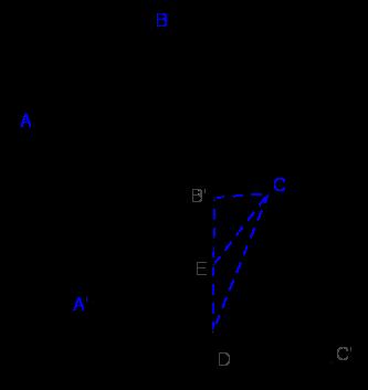 Tính thể tích lăng trụ  A B C A ′ B ′ C ′ ABCA′B′C′, đáy là tam giác đều cạnh bằng  a a, tứ giác  A B B ′ A ′ ABB′A′ là hình thoi.png